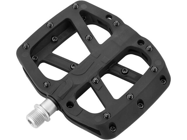 e*thirteen Base Flat Pedals 22 Pins black